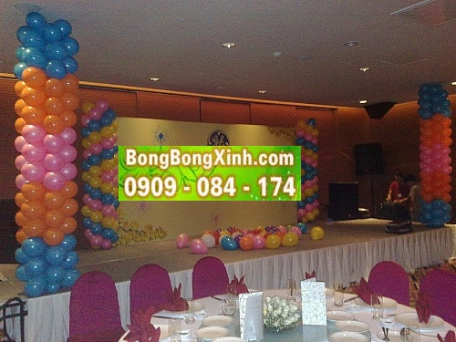 Sân khấu tiệc cưới 003