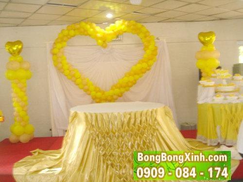 Sân khấu tiệc cưới 030