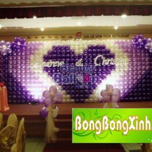 Sân khấu tiệc cưới 009