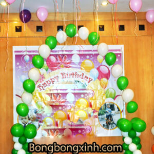 Cổng chào sinh nhật 012
