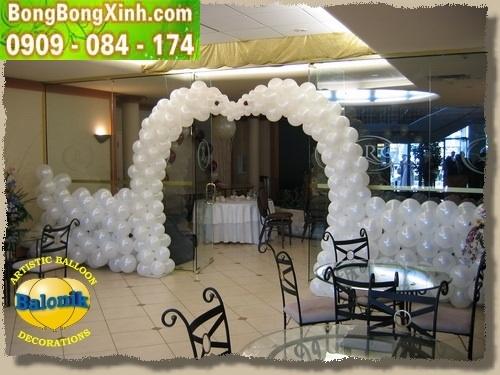 cổng chào tiệc cưới 027