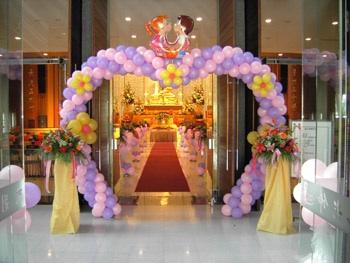 cổng chào tiệc cưới 029