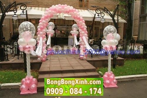 cổng chào tiệc cưới 039