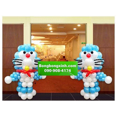Trụ bong bóng 078 hình Doraemon