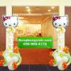 Trụ bong bóng 106 mèo Hello Kitty