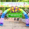 Trang trí sự kiện bằng cổng chào 094 đáng yêu
