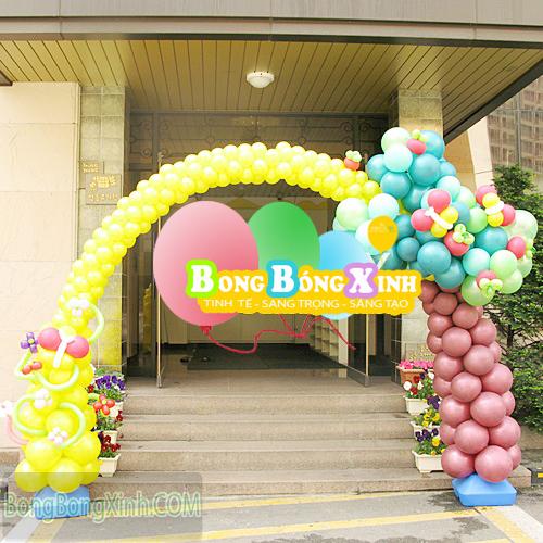 Cổng chào sự kiện bong bóng tạo hình CD0115
