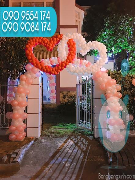 Cổng chào trang trí tiệc cưới CA116