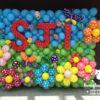 Tường bong bóng trang trí sinh nhật TBB047
