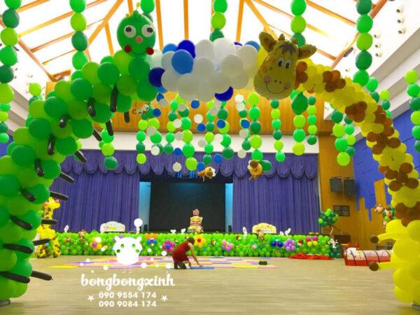 Trang trí sự kiện cho bé với bong bóng