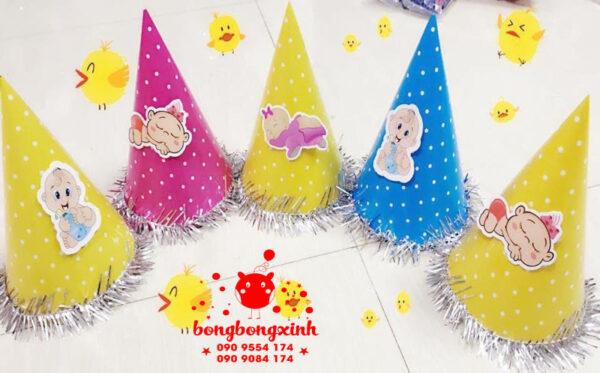 Nón sinh nhật đẹp cho bé tphcm MSN002