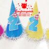 Mũ sinh nhật cho bé số 2 MSN003