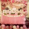 Bàn quà sinh nhật bé Audrey Jane Do BQ145