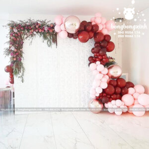 Backdrop trang trí tiệc cưới sang trọng BRC001