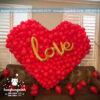 Trang trí bàn ký tên tiệc cưới a thousand of love BKT042