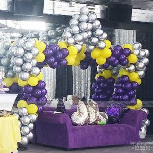 Cổng bong bóng sinh nhật ngôi sao CB142