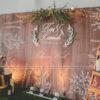 Backdrop tiệc cưới Chiba BRC008