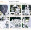 Bộ sản phẩm tông màu bạc SET003trang trí sinh nhật cho bé theo chủ đề