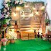 Backdrop tiệc cưới phong cách vintage BRC018