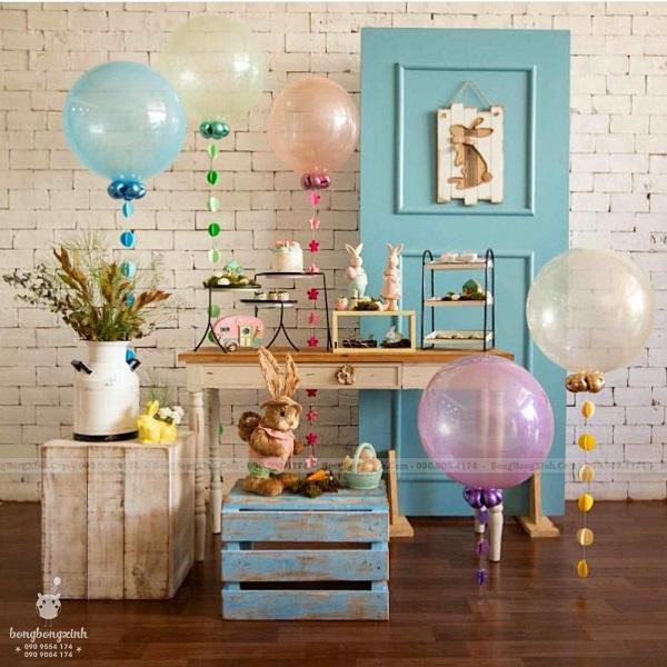 Bàn quà sinh nhật thỏ con BBBN139