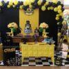 Trang trí sinh nhật quận 8 bàn quà sinh nhật người dơi 4 BQ219