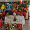 Bàn quà sinh nhật đa sắc BQ237