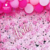 Backdrop sinh nhật đẹp màu hồng BBBN152