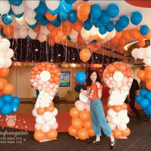 Trang trí sự kiện siêu mua sắm của Shopee BBX029