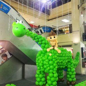 Tiểu cảnh bong bong nhân vật chú khủng long tốt bụng BBX041