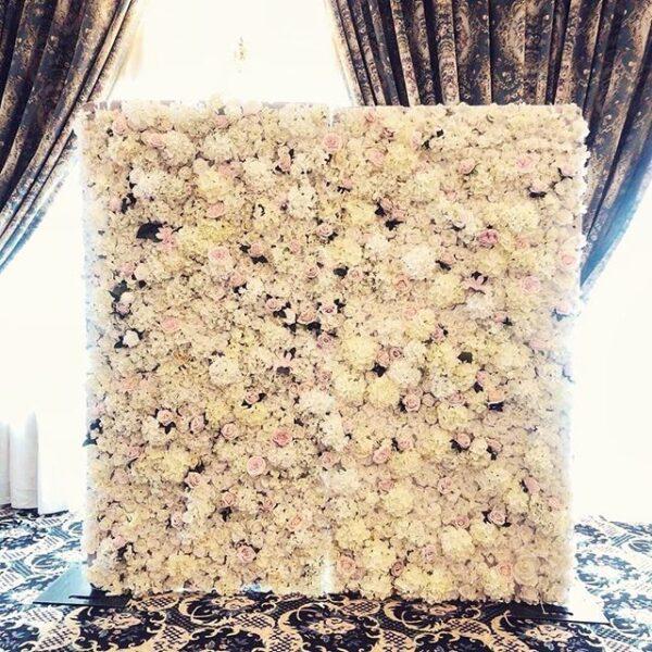 Backdrop hoa trang trí tiệc cưới BBX061
