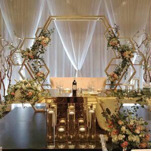 Trang trí sân khấu tiệc cưới BBX067