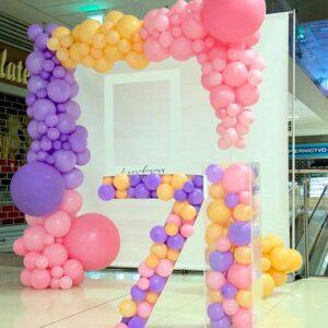 Tiểu cảnh trang trí sinh nhật bé gái tại nhà BBX074