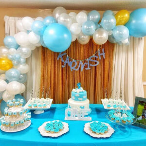 Trang trí sinh nhật trọn gói tại nhà đơn giản BBX107