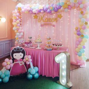 Trang trí sinh nhật trọn gói cho công chúa tuổi tuất BBX148