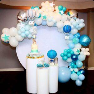 Trang trí sinh nhật trọn gói khinh khí cầu BBX154