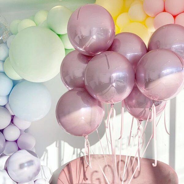 Bong bóng bay chrome cho tiệc sinh nhật của các bạn BBX192