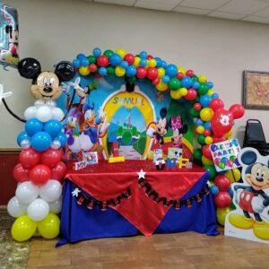 Trang trí sinh nhật trọn gói chuột Mickey và những người bạn BBX197