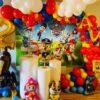 Trang trí sinh nhật trọn gói cho bé trai đơn giản chủ đề Patrol BBX205