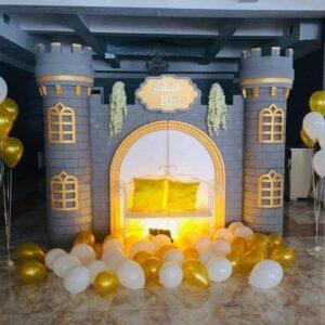 Tiểu cảnh sinh nhật lâu đài BBX239