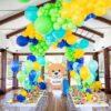Trang trí sinh nhật trọn gói đủ màu sắc BBX296