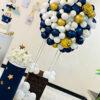 Tiểu cảnh sinh nhật khinh khí cầu BBX308