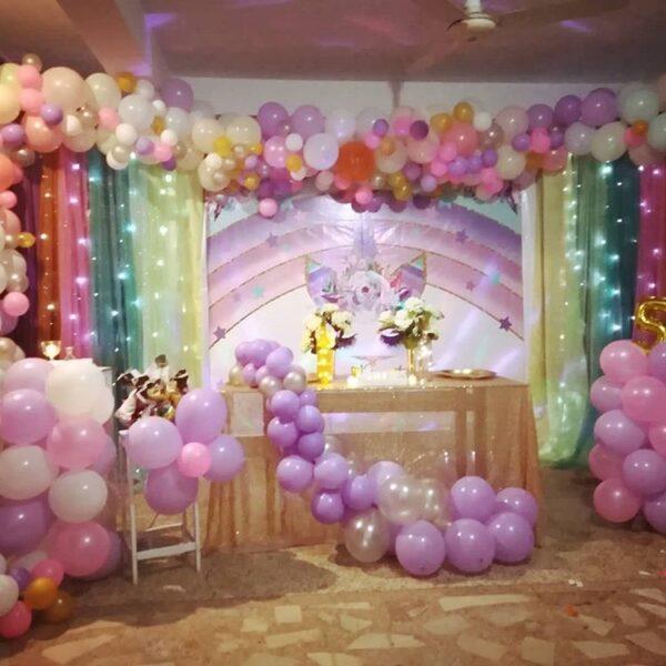 Trang trí sinh nhật trọn gói cho bé gái BBX310