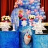 Trang trí bàn quà sinh nhật Frozen BBX386