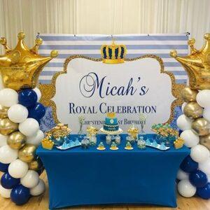 Bộ bàn sinh nhật hoàng gia BQ221