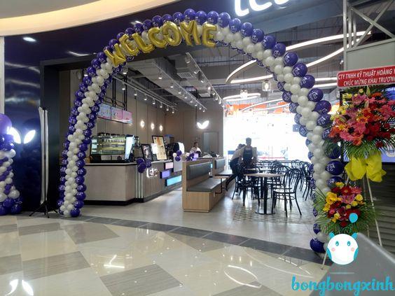 cổng chào sự kiện CD166