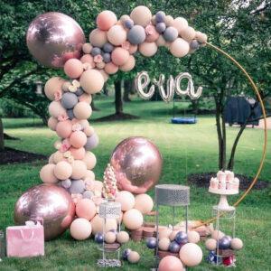 Backdrop bong bóng sinh nhật EVA BBX469