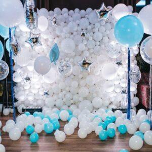 Tiểu cảnh bong bóng sinh nhật lung linh BBX475