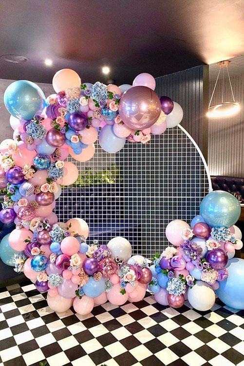 Backdrop tiệc cưới tuyệt đẹp BBX477