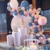Backdrop bong bóng sinh nhật sang trọng BBX481