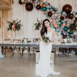 Backdrop tiệc cưới tuyệt đẹp BBX506
